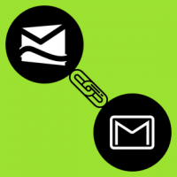 How do I link email accounts - Gmail and Hotmail?