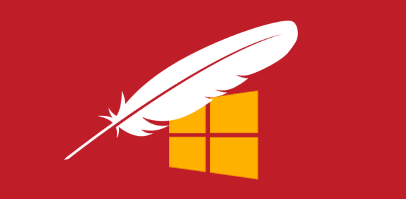 Install Apache on Windows 10