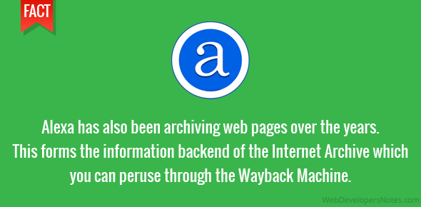 Alexa has also been archiving web pages over the years. This forms the information backend of the Internet Archive which you can peruse through the Wayback Machine.