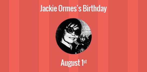 Jackie Ormes Birthday - 1 August 1911