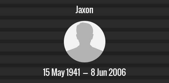 Jaxon Death Anniversary - 8 June 2006