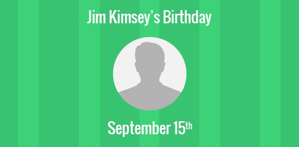 Jim Kimsey Birthday - 15 September 1939