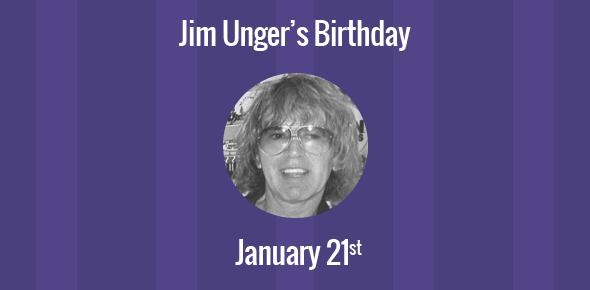 Jim Unger Birthday - 21 January 1937