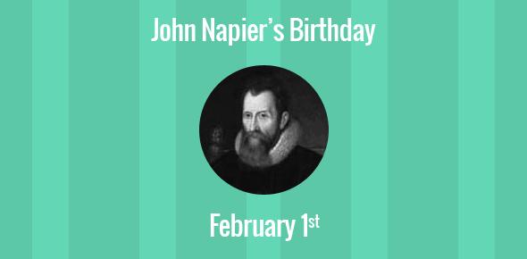john napier mathematician