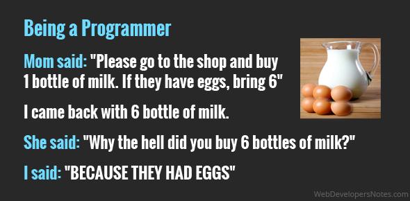 JOKE - Being a Programmer