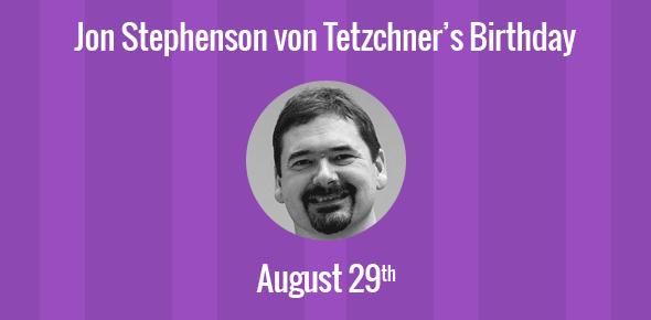 Jon Stephenson von Tetzchner Birthday - 29 August 1967