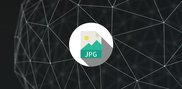 JPG compression algorithm