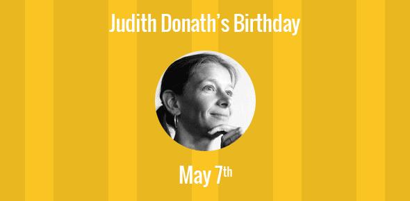 Judith Donath Birthday - 7 May 1962
