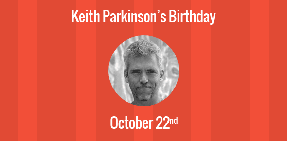 Keith Parkinson Birthday - 22 October 1958