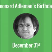 Leonard Adleman Birthday - 31 December 1945