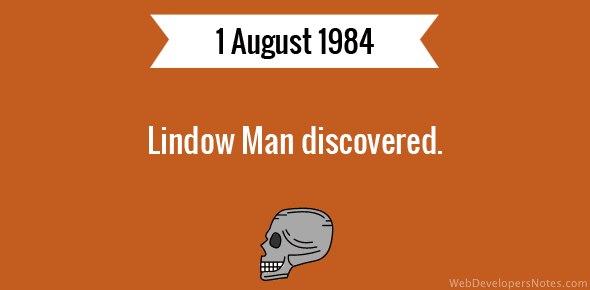 Lindow Man discovered