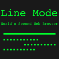 Line Mode - World's second web browser