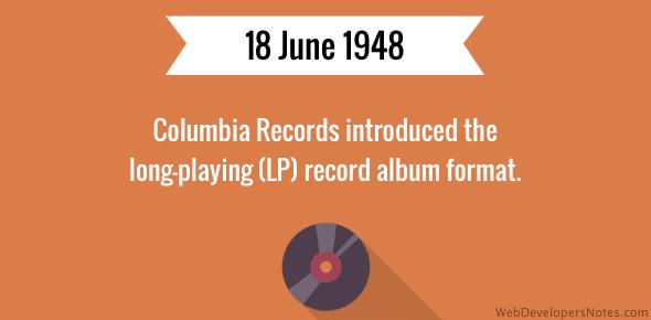 Lp Record Album Introduced