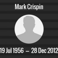 Mark Crispin Death Anniversary - 28 December 2012