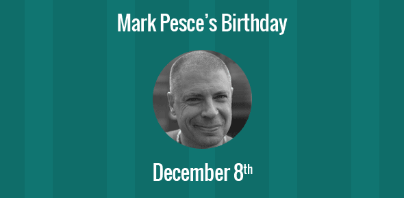 Mark Pesce Birthday - 8 December 1962