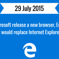Microsoft Edge web browser released