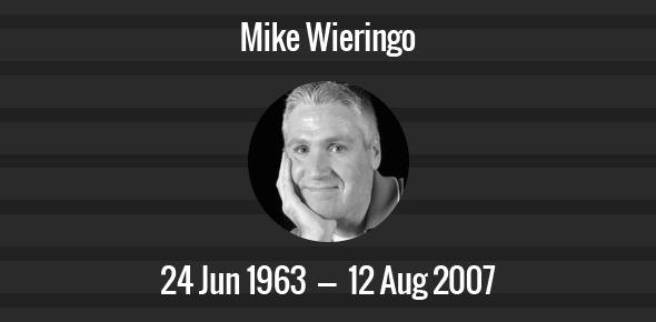 Mike Wieringo Death Anniversary - 12 August 2007