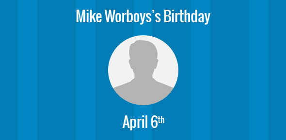 Mike Worboys Birthday - 6 April 1947