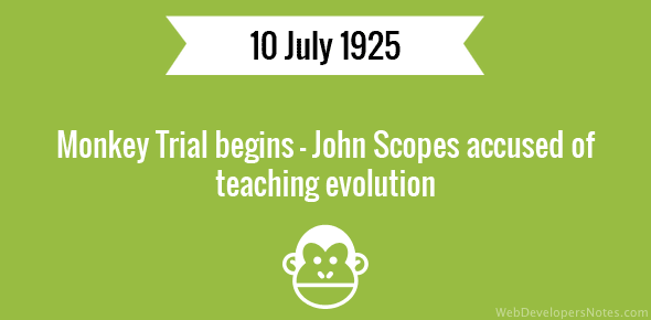 an analysis of scopes monkey trial Although the basis of the play is the scopes trial, the  fundamentalists, on the  other hand — those who believe in a literal interpretation of the bible — clung to   john thomas scopes (also known as the monkey trial), he was tried,.