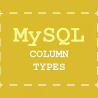 MySQL database Column Types