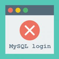 MySQL login error 1045 (28000): Access denied for user ODBC@localhost