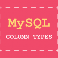 MySQL online tutorial - Column Types part 2