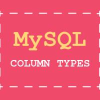 MySQL online tutorial - Column Types part 2