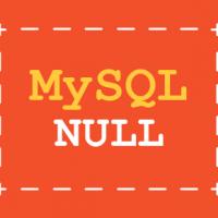 mysql online tutorial - Null column type