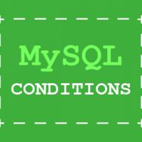MySQL tutorial - selecting data using conditions