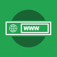 Need a web site address: Get a domain name
