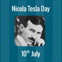 Nikola Tesla Day - 10 July