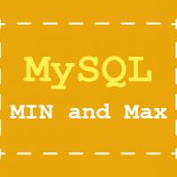 Online MySQL course - Finding the minimum and maximum values