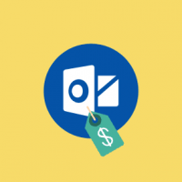 What is the cost of Outlook email program?