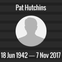 Pat Hutchins Death Anniversary - 7 Nov 2017