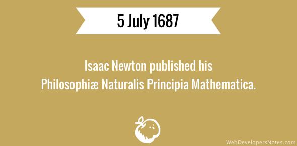 sir isaac newton philosophiae naturalis principia mathematica pdf