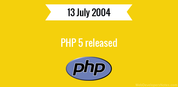 PHP 5 released