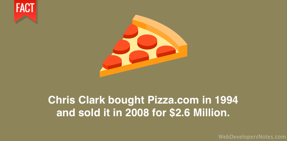 Pizza.com domain name sold