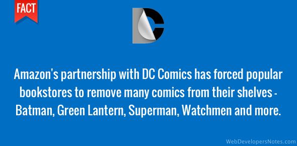 Popular DC Comics removed from bookshelves