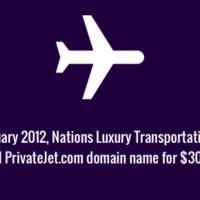PrivateJet.com domain name sale