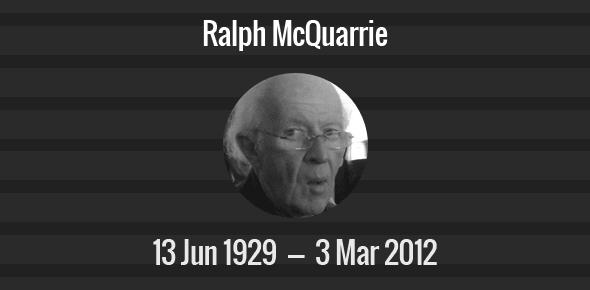 Ralph McQuarrie Death Anniversary - 3 March 2012