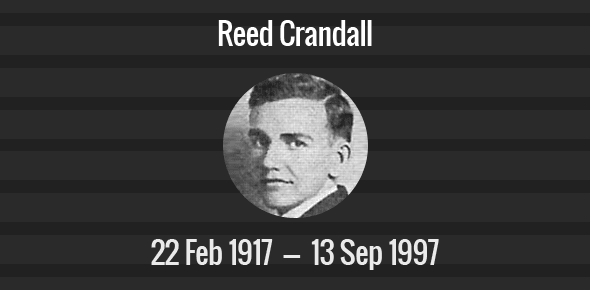 Reed Crandall Death Anniversary - 13 September 1982