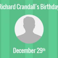 Richard Crandall Birthday - 29 December 1947