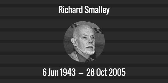 Richard Smalley Death Anniversary - 28 October 2005