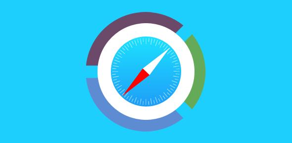 Safari web browser statistics