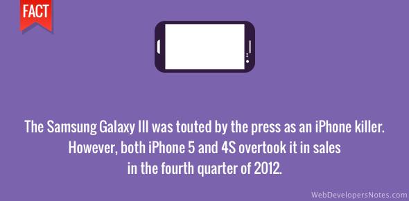 Samsung Galaxy III - iPhone killer?