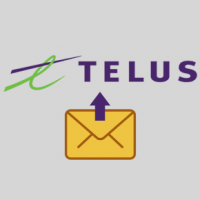 How do I save and backup Telus email messages?