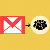 How do I send an email to a group in Gmail?