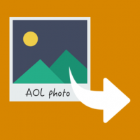 Send photos from an AOL email account