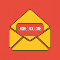 Sending email error - number 0X800CCC0B