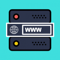 How do I set up a domain name on a web server?
